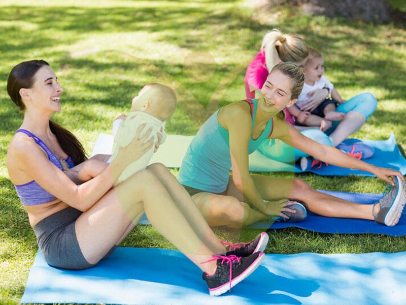 8 نکته برای کاهش وزن بعد از بارداری