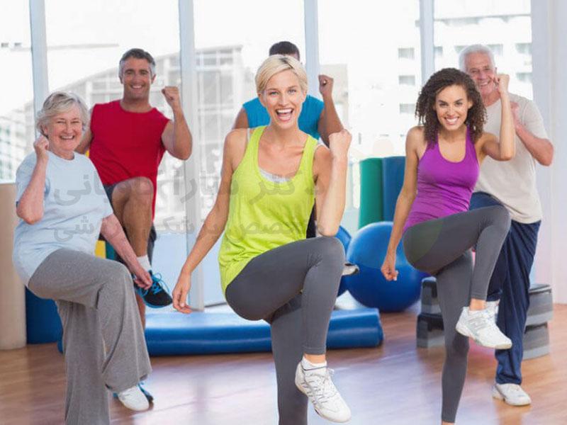 رقص ایروبیک یا هوازی و درمان دیابت