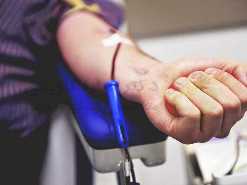 معایب اهدای خون